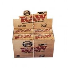 RAW 1,1/4 300 Classic Caja 40 librillos