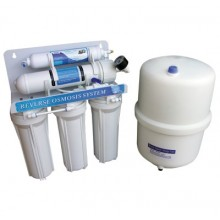 Filtro Ósmosis 5 etapas + depósito presión