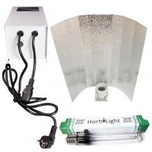 Kit Magnético cerrado Hortilight 600 W con fusible