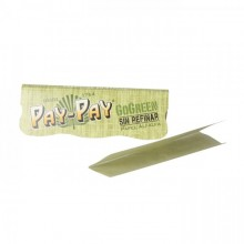 Papel Pay-pay go green 1 1/4 (25 librillos)