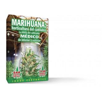 """Libro La biblia """"Marihuana holticultura"""" J. Cervantes"""