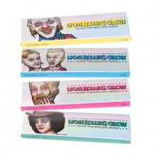 Papel Silver 1 1/4 (25uds) Lion Rolling Circus