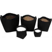 Tex pot Negra 10 L x 10u