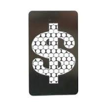 Grinder Tarjeta Dólar