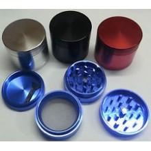 Grinder Polinizador Aluminio CNC 30mm 4 Partes