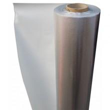Plastico Reflectante Mylar Diamante Blanco 1.25x10