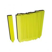 Etiquetas picar 1,6 X 12 amarillas 500UDS