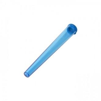 Tubo de almacenamiento acrílico 115mm - Azul.