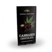 Tableta Chocolate Negro Cannabis Haze 80gr