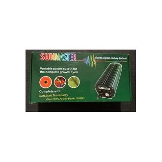 Kit electronico 600w sunmaster bombilla sunmaster reflector ajustable mediano electrogrow
