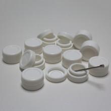 Tarro silicona Blanco
